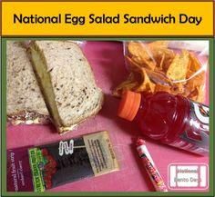 National Egg Salad Sandwich Day