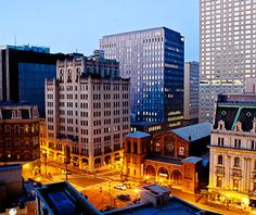 Travel and Leisure has compiled an awesome list of beautiful U.S. skylines. Baltimore is pictured here!