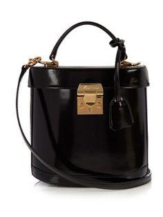 Benchley leather shoulder bag   Mark Cross   MATCHESFASHION.COM US Vintage  Handbags, Vintage bd80606d90