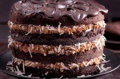 Čokoládový dort s kokosem | Apetitonline.cz