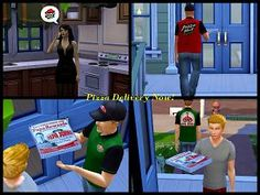 Mod The Sims - The Pizza Posse - Mod