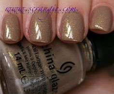 China Glaze: The Hunger Games Capitol Colors Collection Spring 2012 - Fast Track