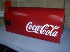 custom mailbox   39 MAILBOX USPS approved Custom Coke mailbox for Sale in Hagerstown ...