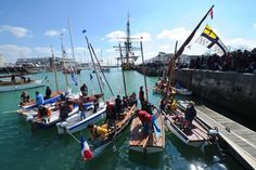 """En images : La Rochelle a célèbré """"l'Hermione"""" avant son grand départ"""