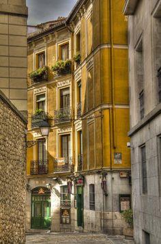 .Madrid  antiguo. El Madrid de los Austrias.