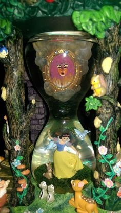 Disney Snow White and Seven Dwarfs Hourglass Snowglobe | eBay