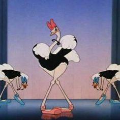 Disney's Dance of the Ostrich, Fantasia 1940