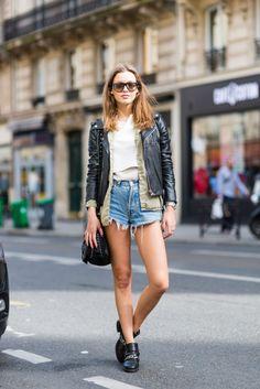 Joy Hellinga, Model - paris street style