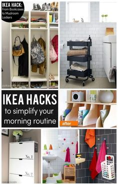 IKEA Hacks to help Simplify your morning