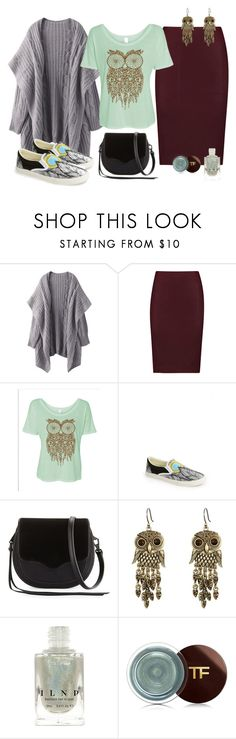 """""""Look"""" by cute-and-red ❤ liked on Polyvore featuring Vince, BucketFeet, Rebecca Minkoff, Lucky Brand and Tom Ford"""