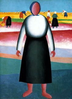 Kazimir Malevich - Russian Suprematism - Harvesting