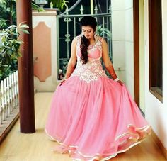 ‪#‎OnlinebollywoodWesternGownshopping‬ ‪#‎LatestWesternstyleBridalGown‬ ‪#‎WesternGownonlinebuy‬ ‪#‎StylishwesternGownonline‬  Maharani Designer Boutique  To buy it click on this link  http://maharanidesigner.com/Anarkali-Dresses-Online/bridal-gowns/ Rs-12000. Fabric-Net. Hand work. For any more information contact on WhatsApp or call 8699101094 Website www.maharanidesigner.com Maharani Designer Boutique's photo.