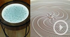 New Kinetic Sand Drawing Tables by Bruce Shapiro
