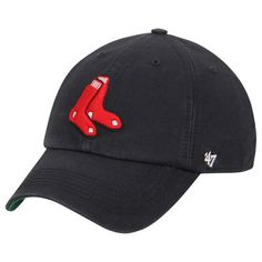 Boston Red Sox  47 Alternate Franchise Fitted Hat - Navy f23cfe1be