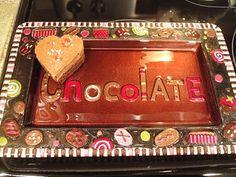 Be Mine, Valentine Brownies