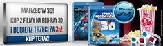 Kup dwa filmy Blu-rady 3D z tej listy: http://filmfreak.pl/blu-ray/marzec-w-3d-promocja.html i trzeci dostań za 3 zł!