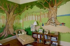 I LOVE this for a kid's room! The wall is awesome!