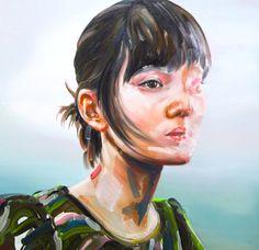 Juxtapoz Magazine - The Paintings of Marefumi Komura
