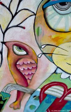 Michelle Allen close-up.