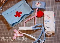 Felt Doctor Kit Tutorial