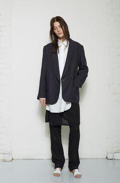 Slouchy suit - #lagarconneatelier