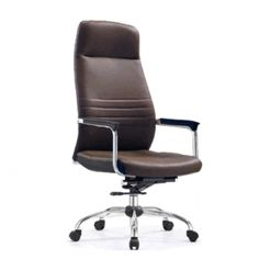 Buy office furniture on affordable price :     Genuine Leather Upholstery      Locking Mechanism      Metallic Base     Dimension: W590 x D510 x SH460-540mm      Backrest Height: 690mm  Special Offer @ S$199.00