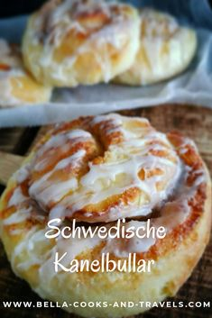 Great recipe for Kanelbullar - cinnamon buns with overnight cooking buns - Food House Healthy Dessert Recipes, Health Desserts, Healthy Baking, Easy Desserts, Healthy Protein Breakfast, Cheesecake, Fall Recipes, Food And Drink, Cooking