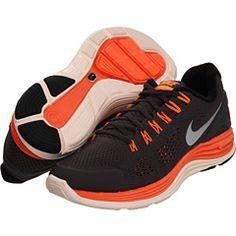 Nike Lunarglide+ 4 Midnight Fog/Total Orange/Barely Orange/Reflective Silver - Zappos