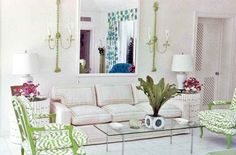 Palm Beach Living Room published in Vogue in 1965 - still chic. Great design never goes out of style.