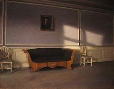 Vilhelm Hammershøi, Sunshine in the Drawing Room III, 1903