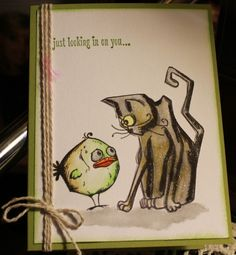 Looking in on you by krobinson@chartermi.net - Cards and Paper Crafts at Splitcoaststampers