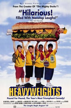 Heavyweights follows a group of young boys as they go through a summer at fat camp -- with a horrible ex-fitness instructor as the camp leader (played by Ben Stiller). Written by Judd Apatow, this film is much more family-friendly than his more recent entries, but it's still just as funny.
