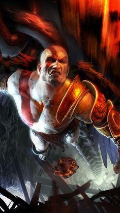 HD Background Kratos God Of War Ascension Game Character Bald Kratos God Of War, Gods Of War, Geeks, Mortal Kombat, Greek Mythology, Game Character, Game Art, Concept Art, Illustration