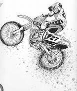 7 Best Dirtbike Images Drawings Drawing Sketches Art Drawings