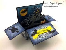 jpp - Halloween Card in a Box, Stampin' Up! Berlin, Spooky Fun, Halloween Scares, Glockenläuten, Framelits Bunter Banner Mix www.janinaspaperpotpourri.de