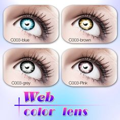 2b65bd65af1 Source wild eye contacts sharingan contact lenses big eyes new look colored  lens on m.