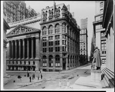 New York Stock Exchange, 1921 | Iconic New York 'Then & Now' comes alive in photo book - NY Daily News