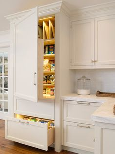 Pantry in a Cupboard ::  Kitchen :: Orrick & Company