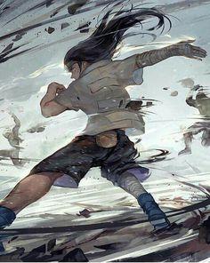 Naruto (ナルト)・Hyuuga Neji #anime #fanart