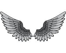 Wobba Jack Tattoo Art Wings Tattoo Meaning Png 225 180