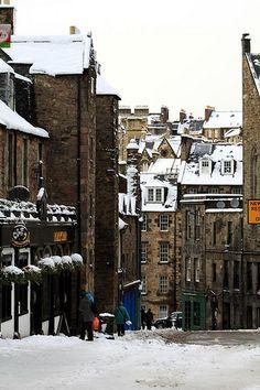 Edinburgh in Snow, Scotland, UK Scotland Uk, Edinburgh Scotland, Edinburgh City, Glasgow, Oh The Places You'll Go, Places To Visit, Destinations, Inverness, British Isles