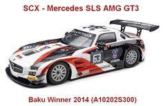 SCX - Mercedes SLS AMG GT3 Baku Winner 2014 (A10202S300) - SCX - Mercedes SLS AMG GT3 Baku Winner 2014 (A10202S300) #slotcar
