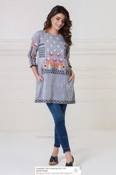 Khaadi Luxury Pret 2017 Price in Pakistan famous brand online shopping, luxury embroidered suit now in buy online & shipping wide nation. Pakistani Couture, Pakistani Bridal Wear, Pakistani Outfits, Diva Fashion, Boho Fashion, Fashion Outfits, Ethenic Wear, Eastern Dresses, Pakistan Fashion