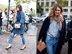 I feel lazy when I wear just denim but I can't seem to stop.