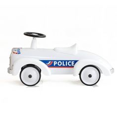 Baghera Speedster Police Ride On Car from Lullabuy http://www.lullabuy.co.uk/designer-toys/baghera-speedster-police-ride-on-car.html