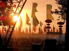 There's something amazing about watching the sunset at a festival. #FestivalFever #PrettyPolly #GossardUK