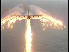 C130 Hercules Showers angle (youtube) Not sure if they did this on purpose or not but pretty cool how the plane makes and angle.