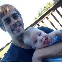 "Derick Dillard, husband of Jill Duggar Dillard, has created a firestorm on Instagram after posting a photo in which he says he is ""babysitting"" his infant son.  The photo (above), which Dillard posted on Tuesday, shows Dillard smiling with his 6-month-old son, Israel, on his lap.  It's an adorable father-son"