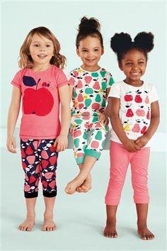 Comprar recortada Fruit Pyjamas Três Pack (12mths-6yrs) a partir da loja online Próxima Reino Unido