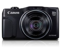 For travellers who value convenience and like to travel light, the PowerShot SX710 HS makes ideal travel companions, epitomising performance with powerful zoom lenses in streamlined design..